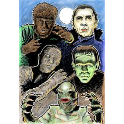 Classic Hollywood Monsters