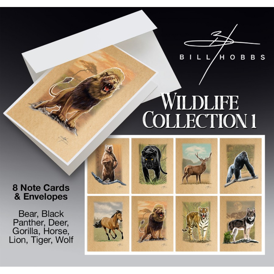 Wildlife Collection 1 -  Note Cards